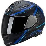 Scorpion EXO 510 Sync schwarz/blau Pump Up Motorradhelm
