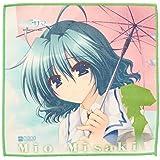 Summer microfiber hand towel Misaki Mio Mashiro (japan import) by Chara-ani