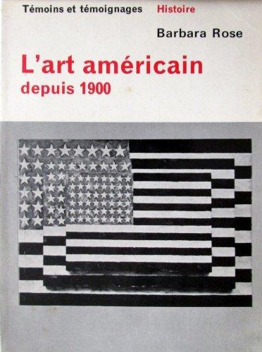 L'art americain depuis 1900