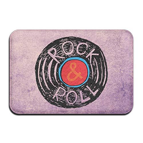 DDOBY Rock N Roll Vinyl Indoor/Outdoor Fußmatte 2416 Zoll