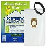 Kirby G10 G10E G10SE Sacchetti HEPA originale per aspirapolvere-Cinghia di trasmissione, confezione da 6 pezzi, 1 cintura)