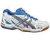 ASICS Gel Flare 5Scarpe da Pallamano Bianco/Argento/Marina Scarpa da Indoor Donna, Donna, White - White