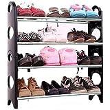Glive's Portable Multi Utility Shoe Rack Organizer Shoe Rack/Shoe Shelf/Shoe 12 Pair Shoes Storage Cabinet 4 Layer