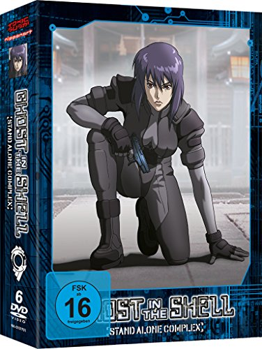 Ghost in the Shell - Stand Alone Complex - Staffel 1 [6 DVDs] (Ds Stand)