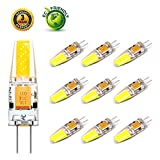 Lifebee LED G4 10package ampoule bulb 3W 12-24V Blanc Froid Fabriqué en Silicone
