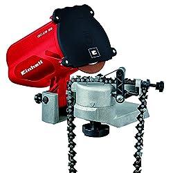 Einhell Sägekettenschärfgerät GC-CS 85 (Schleifscheibe, Tiefenbegrenzung, Kettenspannvorrichtung, präzise Schleifwinkeleinstellung)