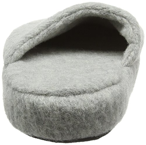 Woolsies Yosa Natural Wool Mule, Chaussons homme Gris - Grey (Ashen Grey)