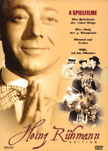 Heinz Rühmann Edition 4 Spielfilme (2 DVD`s)