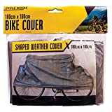 Invero® Universelle wasserdichte Fahrrad-Zyklus-Fahrrad-Abdeckung für Regen Schnee und staubgeschützt