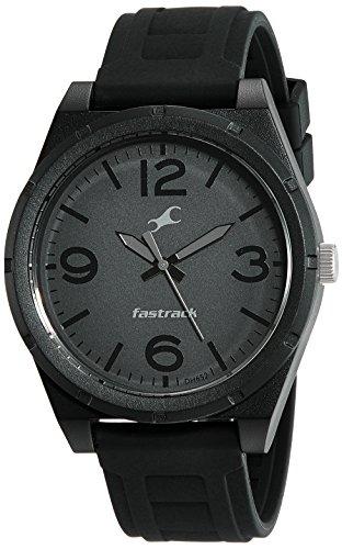 Fastrack Trendies Analog Black Dial Men's Watch-38040PP01