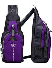 Sannysis bolso para hombre mochilas deportivas