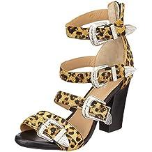Bronx Bx 1467 Bscorpiox, Zapatos de Tacón con Punta Abierta para Mujer
