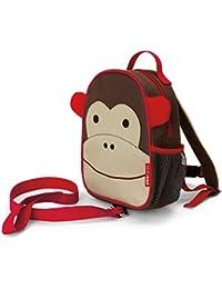Skip Hop Zoo - Mochila arnés, diseño monkey, color marrón