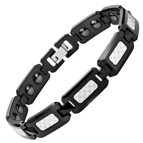 willis-judd-braccialetto-magnetico-in-tungsteno-lucidato-con-fibra-di-carbonio-colore-nero-in-confez