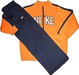 Nike Anzug Boy`s Jacke & Hose Orange-Blau 286608-809 Größe XL = 158-170 cm Alter ca. 13-15 Jahre