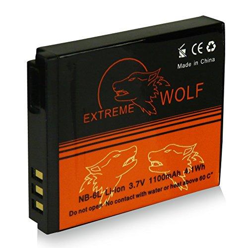 Power Batería NB-6L para Canon Digital Ixus 85 IS | 95 IS | 105 | 200 IS | 210 IS | 300 HS | 310 HS - Canon PowerShot D10 | D20 | S90 | S95 | SX240 HS | SX260 HS | SX270 HS | SX280 HS | SX500 IS