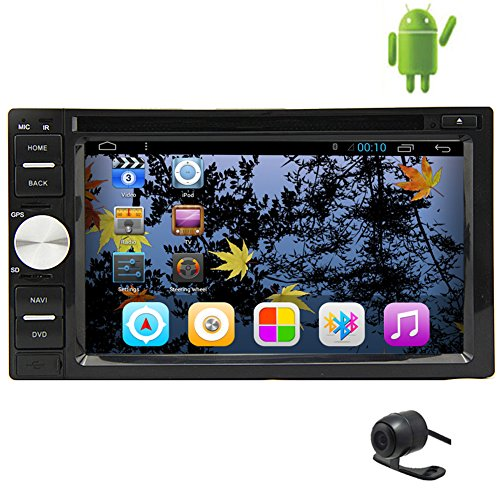 GPS Map Antenne reine Android 5.1 kapazitiver Touch Screen Auto-DVD-Player USB-Video-Audio-Sd Autoradio FM AM PC-System 2-DIN-Radio-Empf?nger Auto-Stereo In Dash Head Unit Bluetooth 7