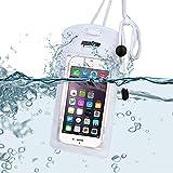 Aquafree Weiß Wasserdichte Schutztasche Tasche (Fit iPhone 6 Plus, 6,5, S6, S5, Hinweis5, Anmerkung...
