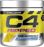 Cellucor C4 Ripped Pre Workout Powder, Energy & Thermogenic Fat Burner Supplement