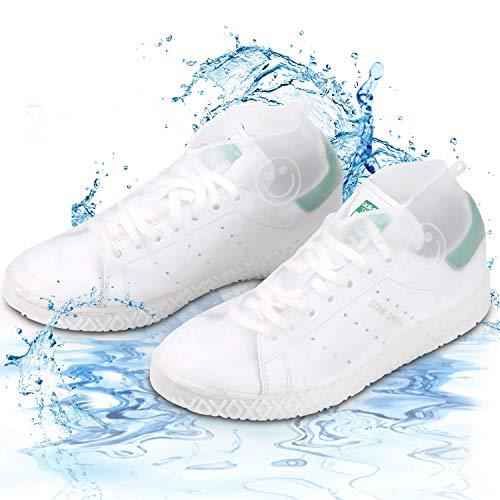 GH-Ghawk® Überschuhe Silikon wasserdicht, wasserdichte Wiederverwendbare Schuhe bedeckt faltbar für Reisen Elastizität Gear Boot für Männer, Frauen, Kinder - Boot-männer Wasserdichte