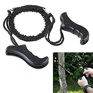 51fXkLprYLL. SS300  - AoToZan Pocket Chainsaw Hand Wire Saw Survival Camping Tool Pocket Gear 100cm for Outdoor, Survival Gear, Camping Gear, Hiking, Gardening