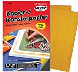 Meyercordt GmbH Durchschreibepapier, gelb