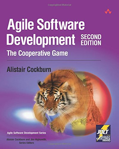 Agile Software Development: The Cooperative Game: The Cooperative Game (2nd Edition) (Agile Software Development Series)