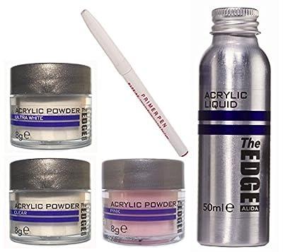 The EDGE Acrylic Powder Plus Liquid Trial Pack