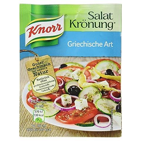 Knorr Salatkrönung Griechische Art, 15er Pack (15 x 450 ml Karton)