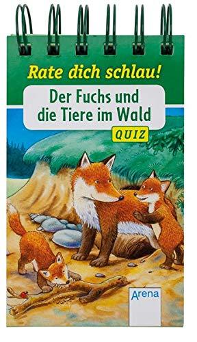 Der Fuchs und die Tiere im Wald: Rate dich schlau! Quiz