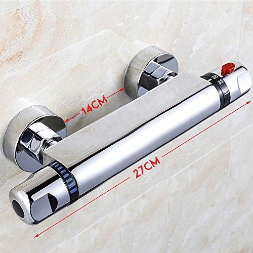 Interlink Duschthermostat thermostat Duscharmatur Mischbatterie Brausethermostat Thermostatventil Dusche -