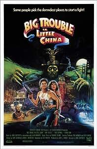 Poster 80 x 120 cm: big trouble in little china - stampa artistica professionale, nuovo poster artistico