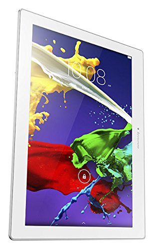"Lenovo Tab 2 A10-30 - Tablet de 10.1"" (Wi-Fi, 2 GB RAM, 16 GB, Android), color blanco"