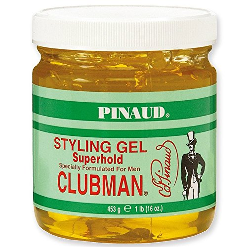Super Hold Styling Gel (Clubman Pinaud Super Hold Styling Gel 473 ml)