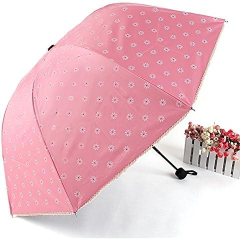 Sombrilla anti-UV negra Apolo plegables sombrillas paraguas , 1