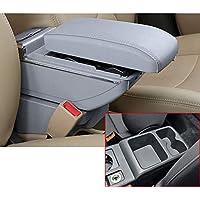 Para V olkswagen Golf 7 Gama alta Auto Apoyabrazos Consola Central Reposabrazos Accesorios Con función de