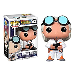 Funko POP Movie Back to The Future Doc Vinyl Figure by Funko TOY (English Manual)