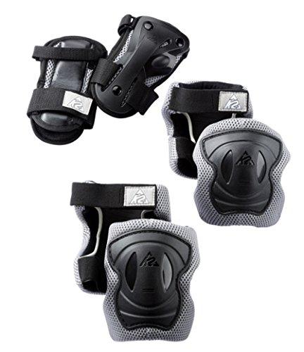 K2 EXO Pad Set Größe L Erwachsenen Schützerset Hand Ellenbogen Knie [Misc.]