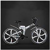 GTYW, Eléctrico, Bicicleta Plegable, Ciudad, Bicicleta De Montaña, Ciclomotor Adulto, 48v, Batería De Litio, 26 Pulgadas, 24 Pulgadas, Batería De Coche,D-26'