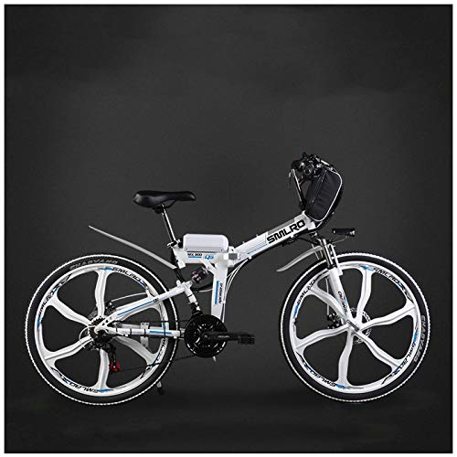 GTYW, Eléctrico, Bicicleta Plegable, Ciudad, Bicicleta De Montaña, Ciclomotor Adulto, 48v, Batería De Litio, 26 Pulgadas, 24 Pulgadas, Batería De Coche,D-26\'