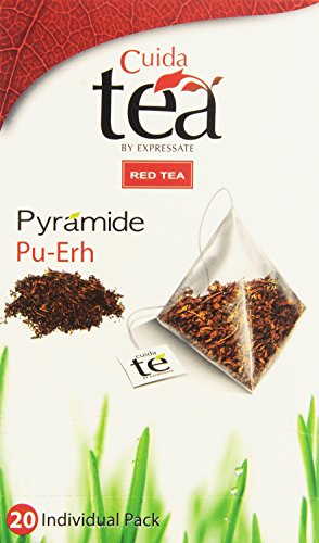 Cuida Tea - Té rojo - Pu-Erh - 20 bolsitas