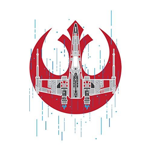 Rogue Squadron Star Wars Men's Vest White