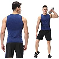 Sport Short Sleeve Shorts Fitness Athletic Quick Dry 2 Pieces Men's Clothing Set for Outdoor and Gym