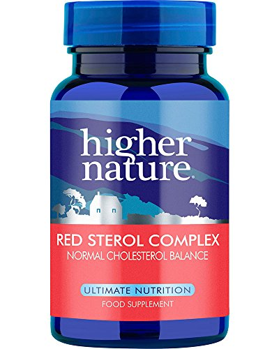 Higher Nature Red Sterol Complex Pack of 90 Test