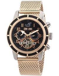 Ingraham Herren-Armbanduhr XL Calcutta Analog Automatik Edelstahl beschichtet IG CALC.1.223367