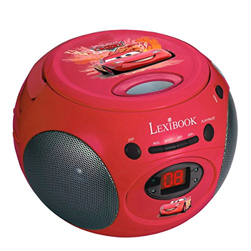 Lexibook Disney Cars Boombox Lecteur CD avec Radio