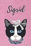 Sigrid Katzen Notizbuch / Malbuch / Tagebuch / Journal / DIN A5 / Geschenk:...