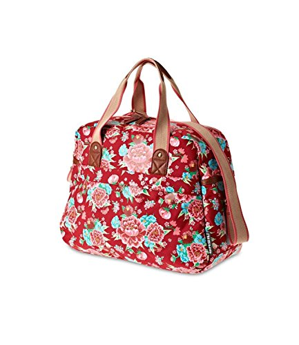 Basil  Fahrradtasche Carry All, Scarlet Red, 42 x 16 x 33 cm, 17519
