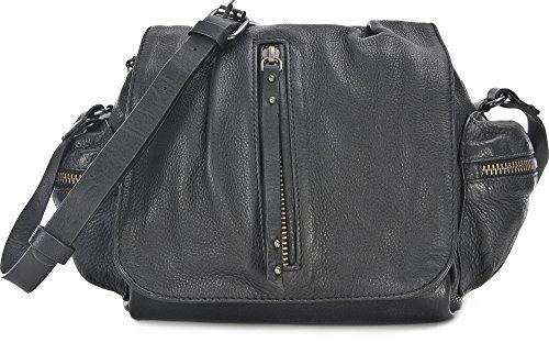 BECKSÖNDERGAARD, Damen Handtaschen, Umhängetaschen, Crossover-Bags, Crossbodys, Schwarz, 19 x 20,5 x 10,5 cm (B x H x T) (X-stil-crossover)