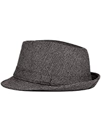 Niki-Orange Lexy Fedora Trilby Hut mit Motiven